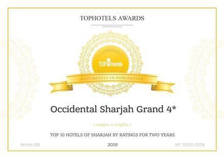 Occidental Sharjah Grand Hotel (Ex. Sharjah Grand)