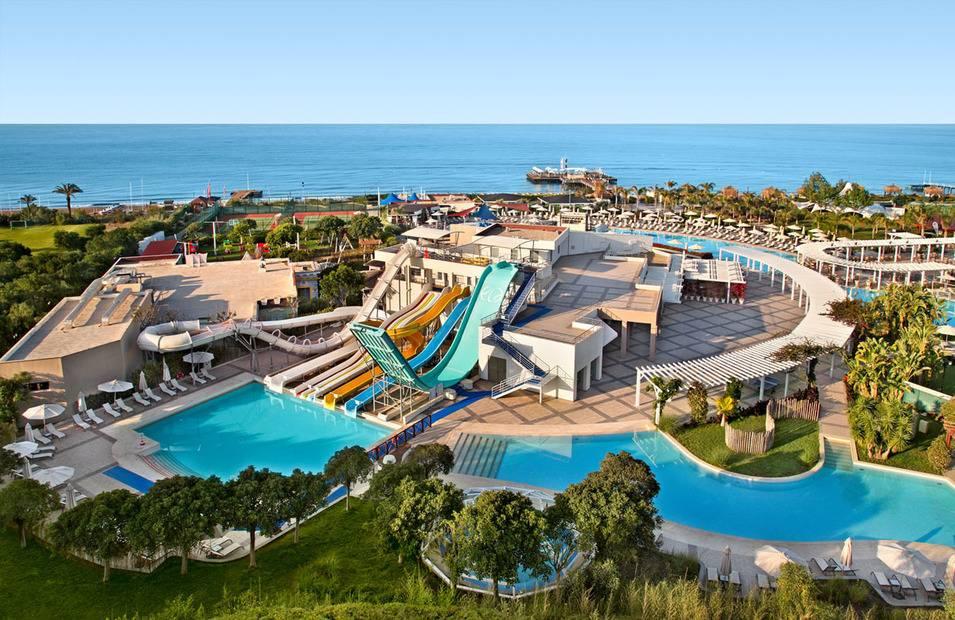 Пять отличных отелей для отдыха с детьми в Турции от 59 500