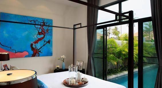 Two Villas Holiday Onyx Style Naiharn Beach