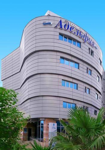 Отель Адельфия