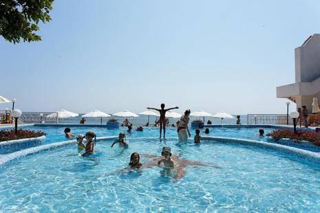 Marina Hotel Sunny Day