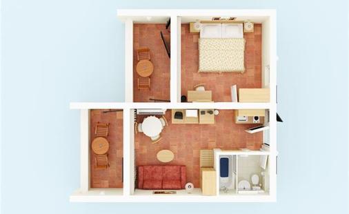 Studio Apartments Laguna Bellevue