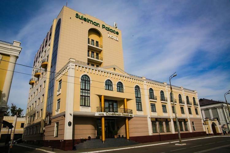 Отель Сулейман Палас