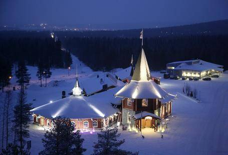 Santa Claus Holiday Village