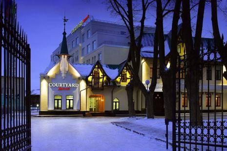 Отель Мариотт Кортьярд