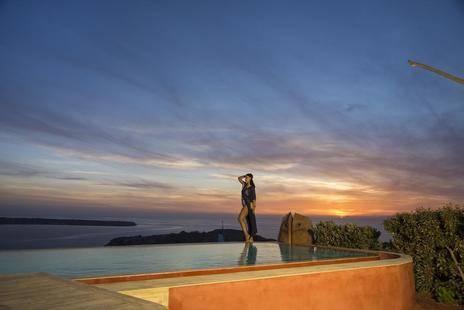 Villas Oia Sunset